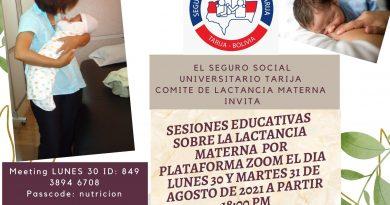 Sesiones Educativas sobre la Lactancia Materna